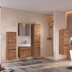 Salle de bains Brama chêne wotan
