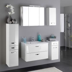 Salle de bains Bobbi blanc