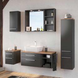 Salle de bains Dasa graphite/gris mat