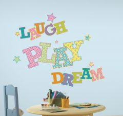 RoomMates stickers muraux - Laugh play dream