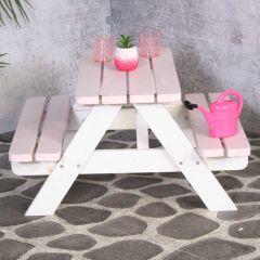 Table de pique-nique Minnie pour enfants – rose