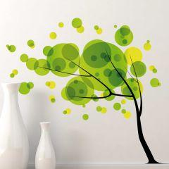 Sticker mural XXL Tree in the Wind