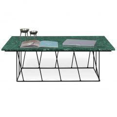 Table basse Helix - marbre vert