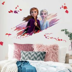 Sticker mural XL La Reine des Neiges 2 Anna & Elsa