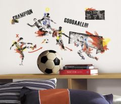 RoomMates stickers muraux - Champion de foot