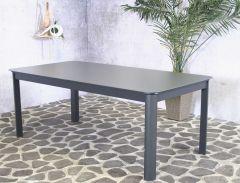 Table de jardin extensible Bahar 200/300x100 - gris