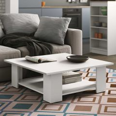 Table basse Square 67x67 - blanc