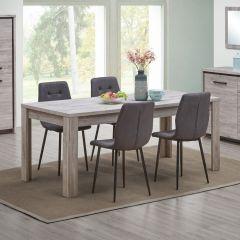 Table à manger Sela 190x90 - chêne gris