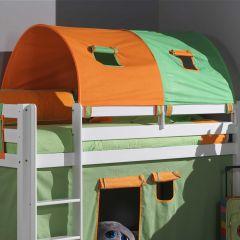 Grand tunnel vert/orange
