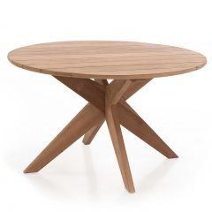 Table de jardin Java Ø165 - teck