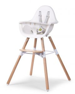 Chaise enfant Evolu 2 - naturel/blanc