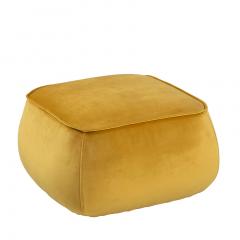 Pouf Mirza 60x60 - jaune
