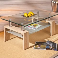 Table basse Alva - chêne