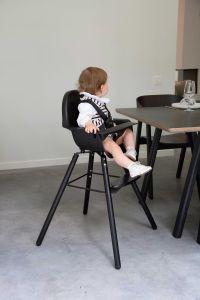 Chaise enfant Evolu 2 - noir