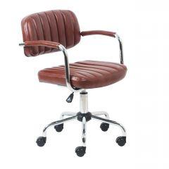 Chaise de bureau Easy - brun