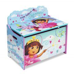 Coffre à jouets Dora en bois