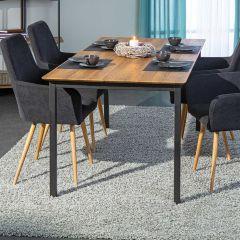 Table à manger Klang 180cm - chêne/métal