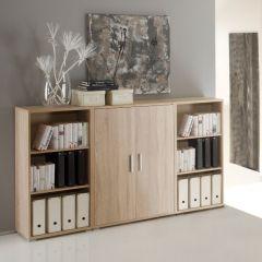 Bibliothèque basse Olaph - chêne