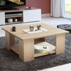 Table basse Square 67x67 - chêne