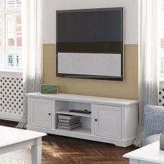 Meuble TV Verner 160cm - blanc
