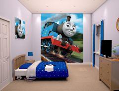 Papier peint Thomas et ses amis - petit