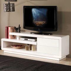 Meuble TV Bungee 142cm - blanc