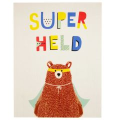Tapis enfant Superhero Bear