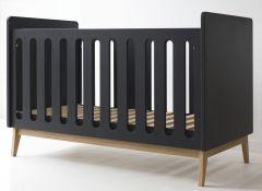 Lit bébé Pure 60x120 - noir