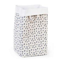 Panier en toile 32x32x60 - léopard