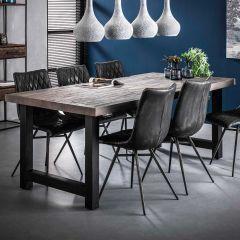 Table à manger Ron 165 cm - acacia grey wash