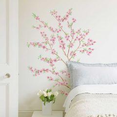 Sticker mural Peach Branches XL