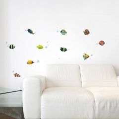 Stickers muraux Poissons