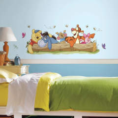 Sticker mural XL Winnie the Pooh and Friends