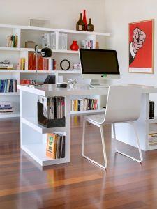 Bureau Multis 180cm - blanc
