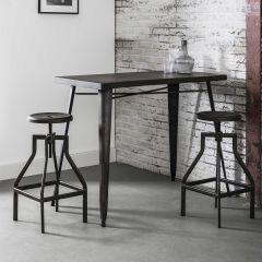 Table de bar Audrey 120cm