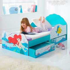 Lit junior à tiroirs Disney Princess Ariel
