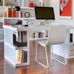 Bureau Multis 160cm - blanc