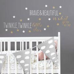 Stickers muraux Brave & Beautiful