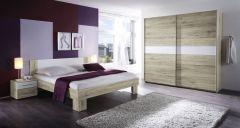 Set de chambre Mavic 180x200 - chêne/blanc