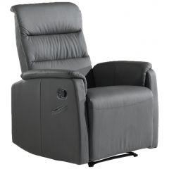 Fauteuil relax England - gris
