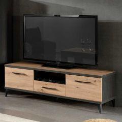 Meuble TV Lodz 150cm - bois artisan
