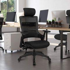Chaise de bureau Casper - noir