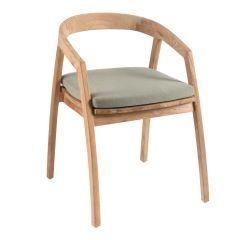 Chaise de jardin Makassar
