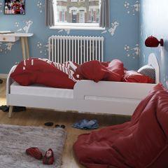 Lit Gustaf 70x140 - blanc