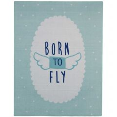 Tapis enfant Born To Fly
