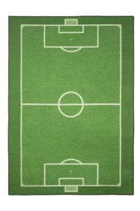 Tapis enfant Football Field