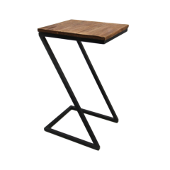 Table d'appoint Taylor - naturel/noir