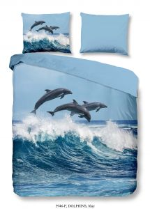 Housse de couette Dolphins 140x220