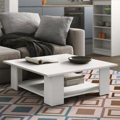 Table basse Square 89x89 - blanc