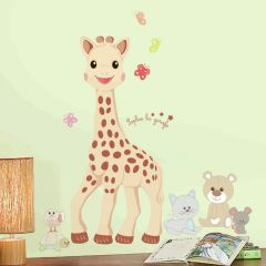 RoomMates stickers muraux - Sophie la girafe grand